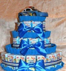 Торт угощение в детский сад или на день рождения