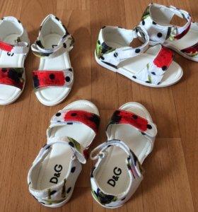 Новые сандали D&G