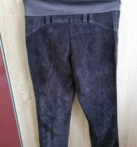 Вельветовые брюки для беременных, новые, размер 48