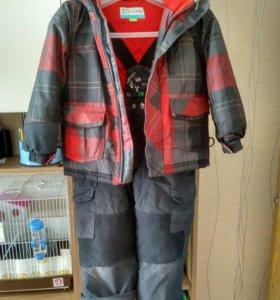 Зимний костюм на мадьчика