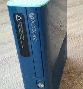 Xbox360+kinect+2 джойстика+8 игр на дисках.