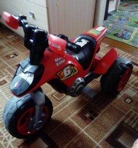 Мотоцикл - электромобиль