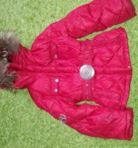 Пуховая куртка NELS р.128-134