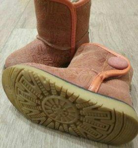 Ботиночки-угги демисезонные