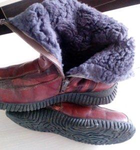 Сапоги зима для девочки
