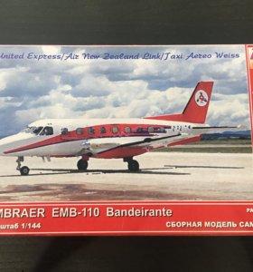 Сборная модель самолёта Embraer 110