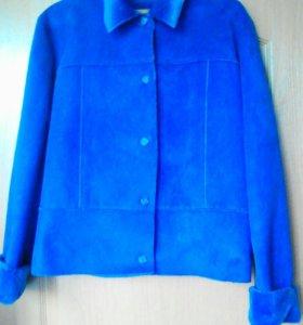 Женский пиджачок утепленый