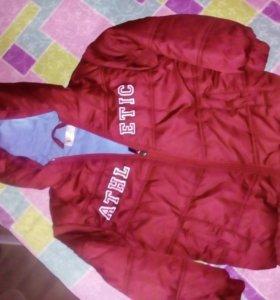 Куртки 4-5лет