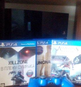 PlayStation 4(+3 игры)