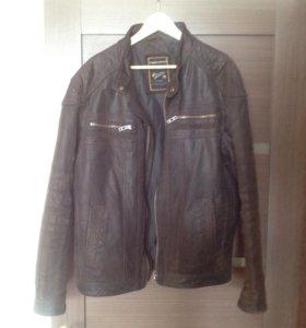 Куртка кожаная мужская размер XL