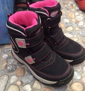 Ботинки зимние финские новые