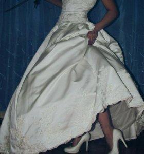 Платье свадебное+фата