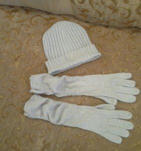 Шапка+Перчатки. смотрите и др. объявления