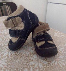 17 размер, Кожаные ботинки