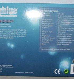 Новый подводный фонарь BIG blue CF900P