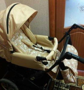 Детская коляска Беби Хит 2 в 1