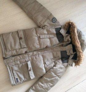 Куртка пуховик на подростка 11-12 лет
