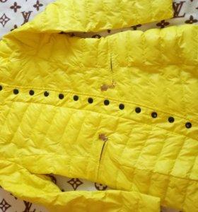 Удлиненная куртка весна-осень