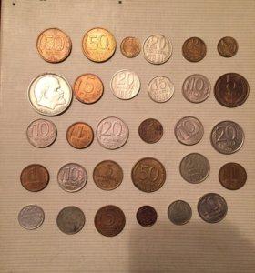 Монеты России, СССР