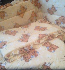Комплект мягкий для кроватки