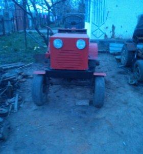 Самоделный мини трактор