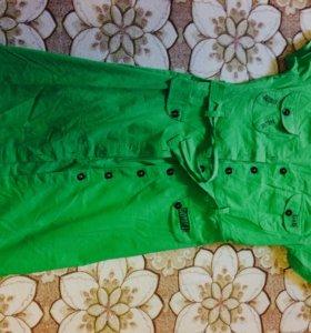 Красивое платье-халат