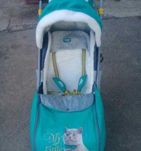 Санки-коляска для детей