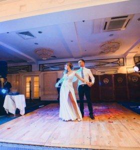 Свадебное плптье