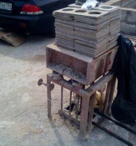 Вибро стол для блоков