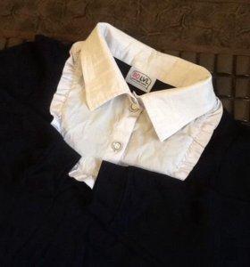 Блузка школьная водолазка