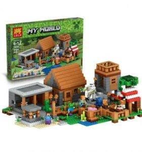 Конструктор Minecraft аналог LEGO