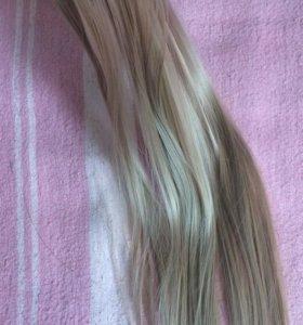 Трессы на заколках ( искусственные волосы )