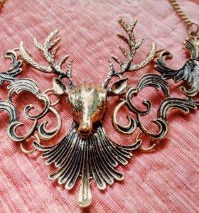 Ожерелье с оленем