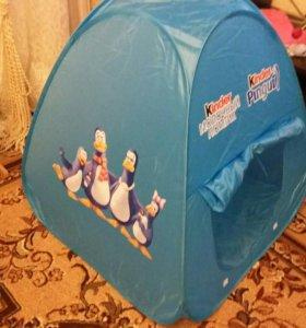 Детская палатка киндер-пингви