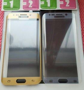 Защитное стекло на Samsung 6S egde