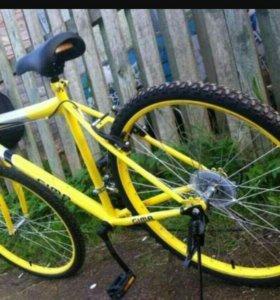 Велосипед gima для взрослых 18скоростей