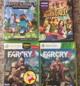 Xbox 360+Kinect + игры