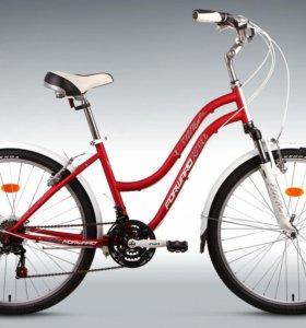 Городской женский велосипед Forward Evia 1.0 2015