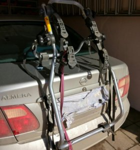 Багажник для велосипедов на седан или х-бек