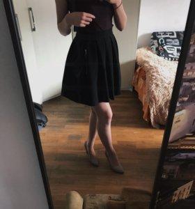 Юбка чёрная. Кира Пластинина юбка-колокольчик