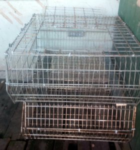Клетки для кроликов,утят или цыплят.