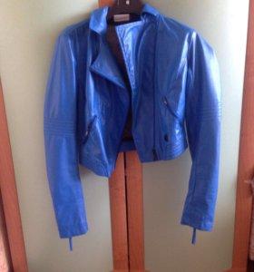 Куртка, укорочённая, кож/зам