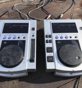Pioneer cdj-100s - 2шт