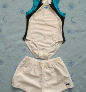 Гимнастический купальник, шорты, трико
