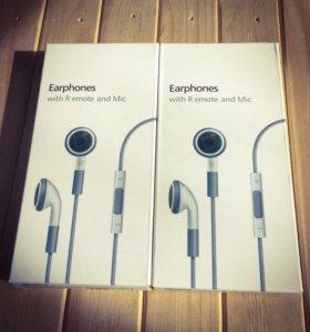 Наушники apple earphones
