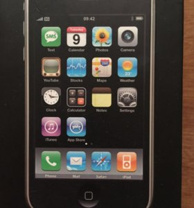 Коробка от iPhone 3G