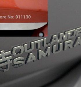Тюнинг двери багажника Outlander Samurai