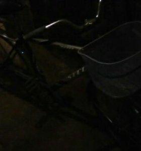 Велосипед Stels взрослый с мужской рамой.