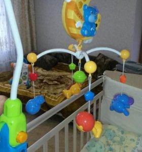 Модуль на детскую кроватку