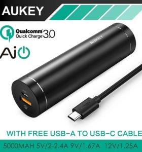 Aukey 5000mAh Power Bank QC 3.0 PB-T12